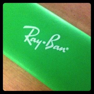 Ray Ban Lime Green Case
