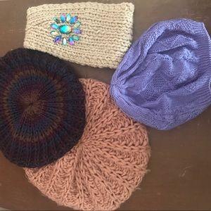 Accessories - Knit Hats & Knit Headband