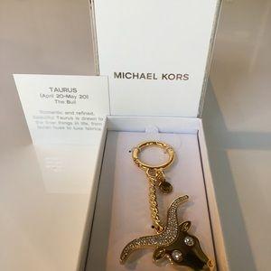 Michael Kors Zodiac Key Ring/Fob/Charm