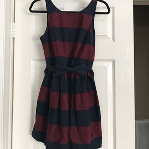 Abercrombie and Fitch striped dress size 6