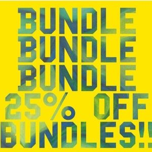 Sale (and football) time! 25% off bundles!