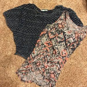 2 piece shirt set