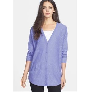 Eileen Fisher Organic Linen & Cotton V-Neck