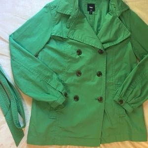 GAP Tie-Waist Trench Coat