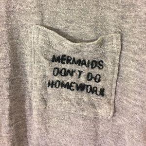 "Brandy Melville ""mermaids don't do homework"" too"