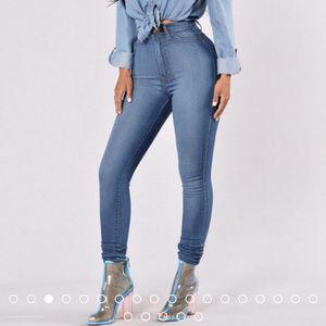 Fashion Nova high waisted skinny jeans