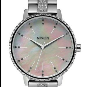 Nixon Women's Kensington Bracelet Watch (Crystal)