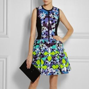 Peter Pilotto for Target dress purple green sz 16