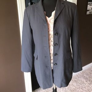 Grey banana republic suit