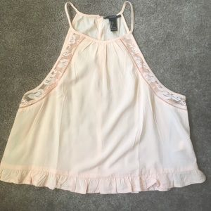 Forever 21 Peach Pink Tank Top