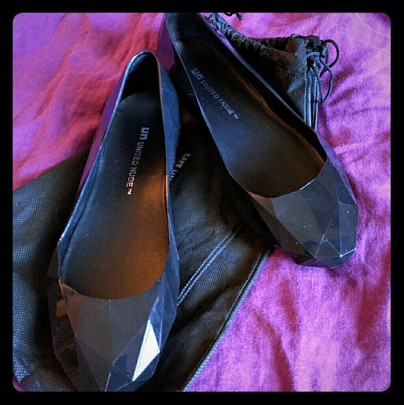 United Nude Shoes - United Nude Lo Res flats