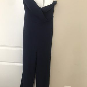 Keepsake strapless jumpsuit