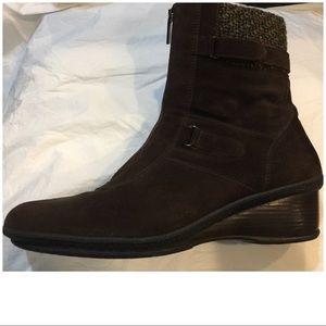 Aquatalia Weatherproof Wedge Boots