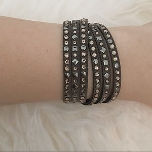 Michael Kors Crystal Wrap Bracelet