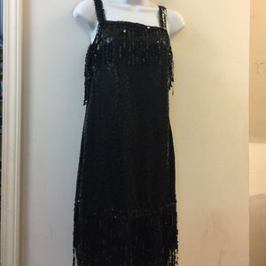 Flapper Adult Costume Size Small 4-6