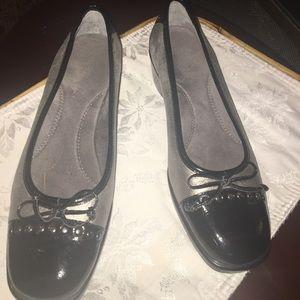 Aerolsole wedge shoe