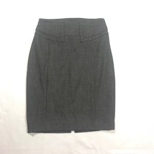 Express Pencil Skirt Back Buckle Career Size 00