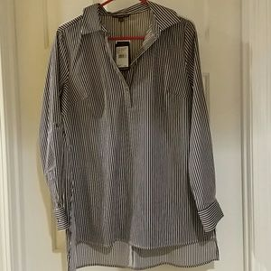 Adrianna Papell striped tunic