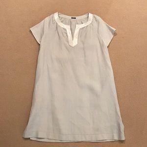 J. Crew Grey Linen Dress