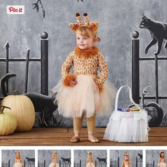 Pottery Barn toddler giraffe costume  sc 1 st  Poshmark : pottery barn puppy costume  - Germanpascual.Com