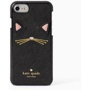 Kate Spade iPhone 7plus Cat Case