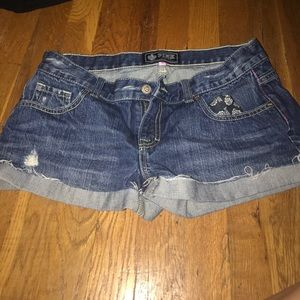 VS PINK Jean Shorts size 6