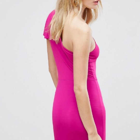 Asos Dresses - ✨ASOS One Shoulder Mini Bodycon Dress✨