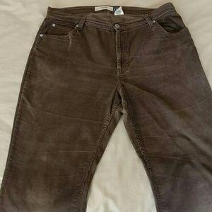 Gap Brown Vintage Corduroys size 16