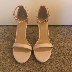 NWOT Nude Missguided Heels