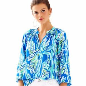 NWT Lilly Pulitzer 'Elsa' bamboom top