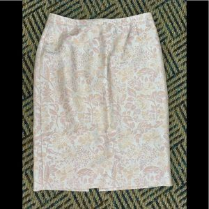 Brocade Skirt size 10 Carmen Marc Valvo