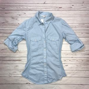 James Perse blue Size S (1) Ribbed Button Down