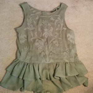 GUESS Green Blouse