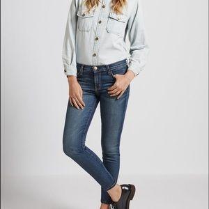Current/Elliot Townie Stiletto Jeans