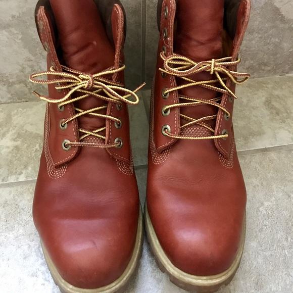 Rojo Tamaño De Botas Timberland 11,5
