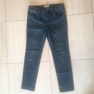 Free People Stretch Cropped Jeans