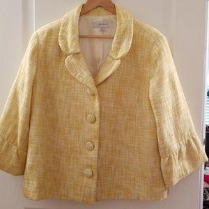 Merona 3/4 bell sleeve tweed blazer sz xxl