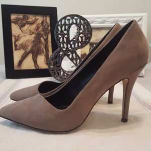 Aldo suede/leather heels