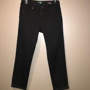 Hot Kiss Black Jean capris