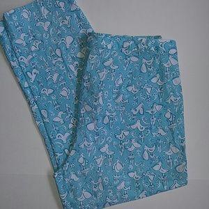 Lilly Pulitzer Ol Salty Pelican Crop pants 8
