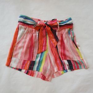 Jessica Simpson multi color shorts