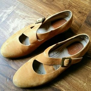 Leather Rockport Mary Jane Shoes