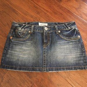 Aeropostale Jean Denim Skirt Size 7/8
