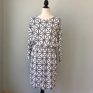 Boden printed dress with pockets