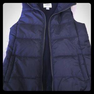 Dark Navy puffer vest
