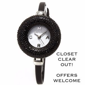 Marc Jacobs 106/350 Limited Black Crystal Watch