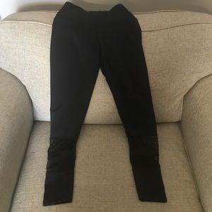 Black Yoga Leggings - XS - never worn