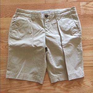 Women's Old Navy Khaki Bermuda Shorts, Size 2