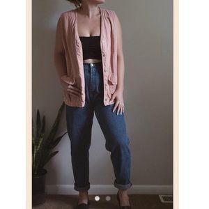 Pink Vintage Vest