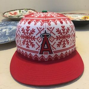 """ugly Christmas sweater"" Angels hat"